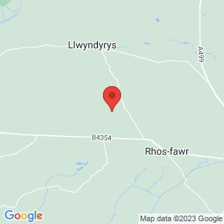 Clay Pigeon Shooting Pwllheli, Gwynedd Location Map