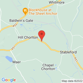 Axe Throwing Stoke-On-Trent Location Map
