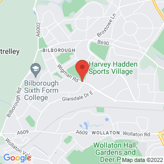 Combat Archery Nottingham Location Map