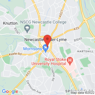 Indoor Laser Stoke Location Map