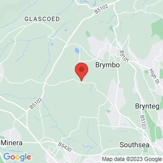 4x4 Off Roading Wrexham Location Map
