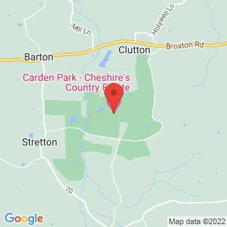 Bubble Football Clutton, Nr Chester Location Map