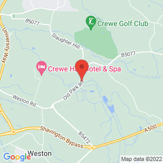 4x4 Off Road Driving Crewe Location Map