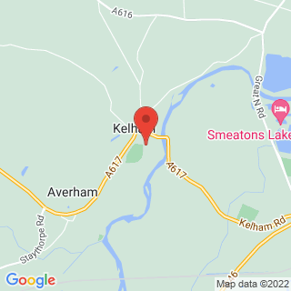 Air Rifle Ranges Kelham Location Map