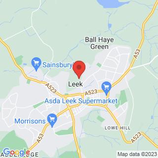 Bubble Football Leek Location Map