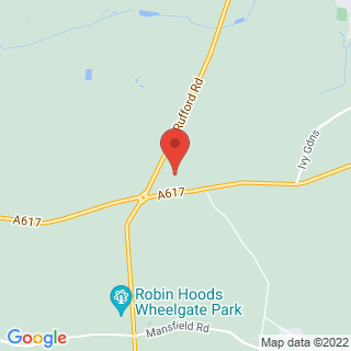 4x4 Off Road Driving Nottingham Location Map