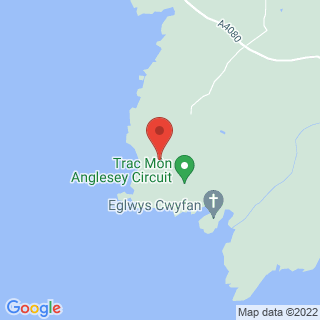 Driving Anglesey, Wales Location Map