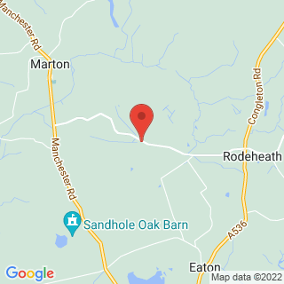 Paintball Congleton Location Map