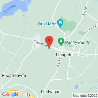 Bubble Football Llangefni Location Map