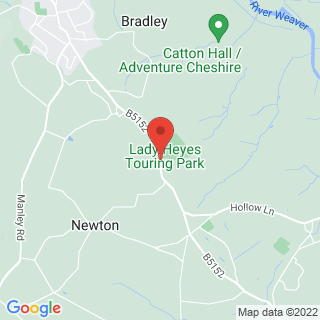 High Ropes Course Frodsham, Cheshire Location Map