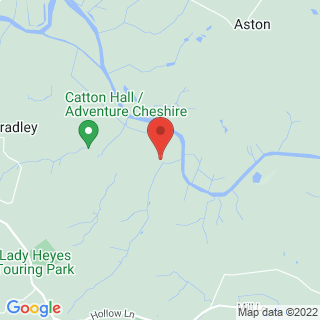 Air Rifle Ranges Frodsham, Cheshire Location Map