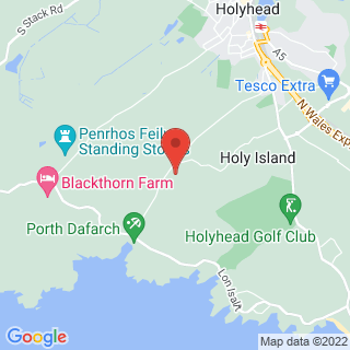 Kayaking Holyhead, Anglesey  Location Map