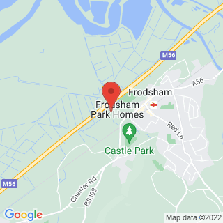 Combat Archery West Frodsham Location Map