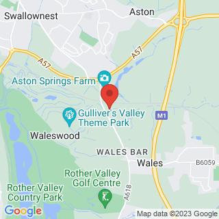 Wakeboarding Sheffield Location Map