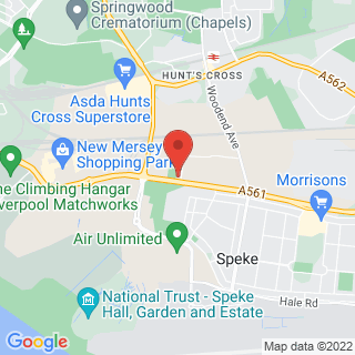 Combat Archery Liverpool South Location Map