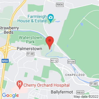 White Water Rafting Palmerstown Location Map