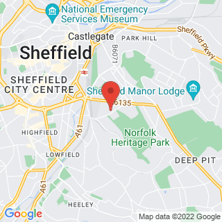 Bubble Football Arbourthorne Location Map