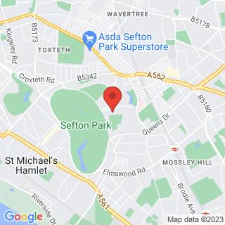 Combat Archery Sefton Park, Liverpool Location Map