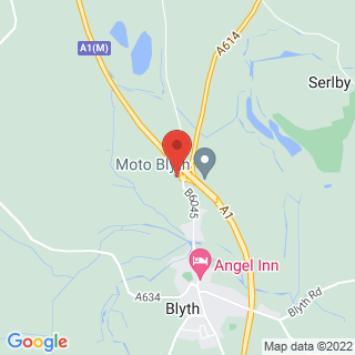 Clay Pigeon Shooting Worksop 2 Location Map