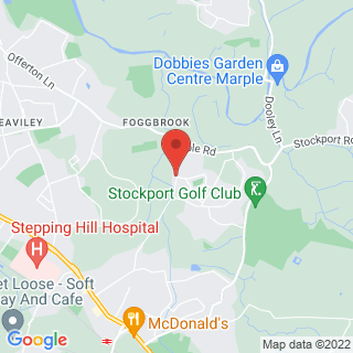 Horse Riding Stockport Location Map