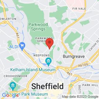 Zombie Survival Sheffield Location Map