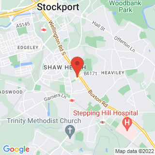 Escape Games Stockport Location Map