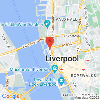 Axe Throwing Liverpool Location Map