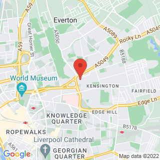 Combat Archery Liverpool Location Map