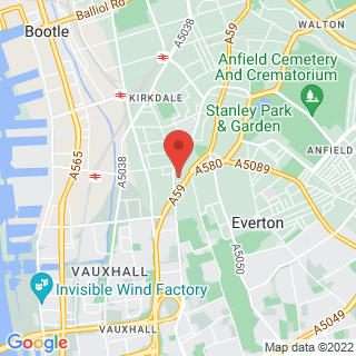 Bubble Football Liverpool, Whittle St Location Map