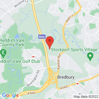 Karting Manchester Location Map
