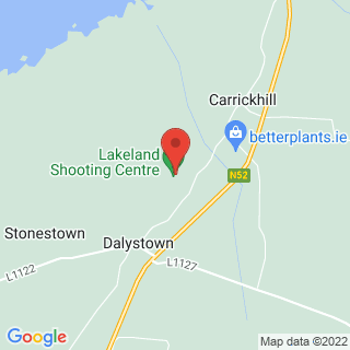 Clay Pigeon Shooting Mullingar, Co. Westmeath Location Map