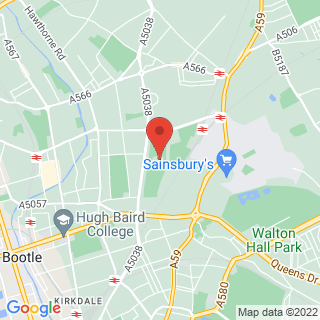 Combat Archery Bootle, Merseyside Location Map