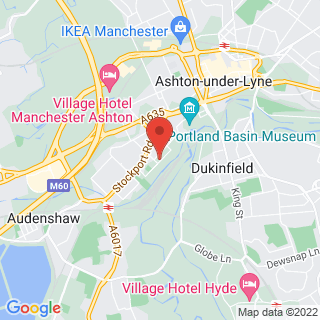 Indoor Paintball Ashton Under Lyne, Indoor Paintball Location Map