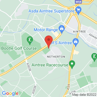 Bubble Football Litherland Location Map
