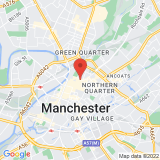 Escape Games Manchester - The Print Work Location Map