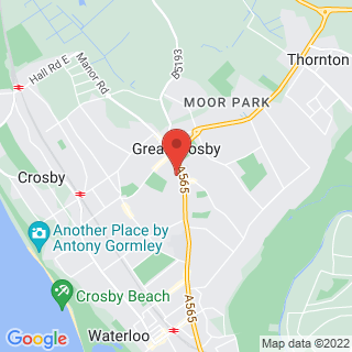 Combat Archery Crosby, Merseyside Location Map