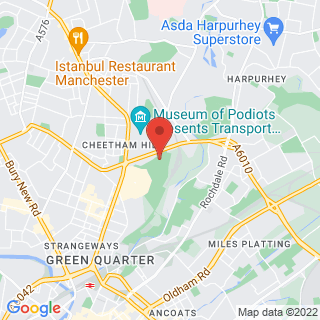 Combat Archery Manchester Location Map