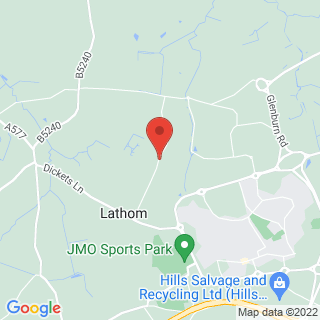 Paintball Ormskirk Location Map