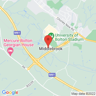 Bubble Football Bolton Location Map