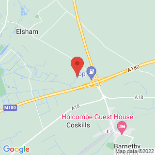 Paintball Elsham, Lincolnshire Location Map