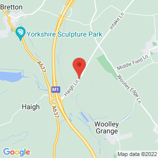 Paintball Wakefield, West Yorkshire Location Map