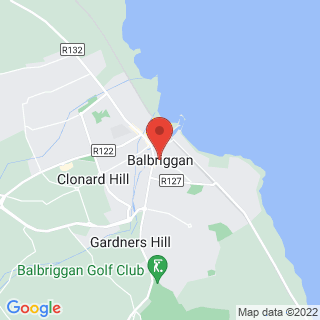 Clay Pigeon Shooting Balbriggan, Co Dublin Location Map