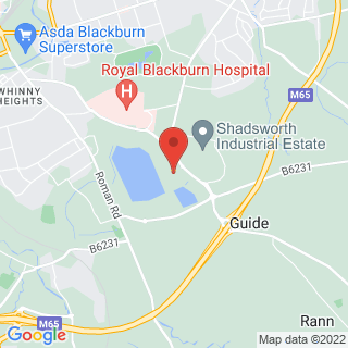 Bubble Football Blackburn, Lancashire Location Map