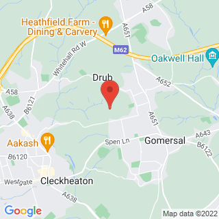 Air Rifle Ranges Cleckheaton Location Map
