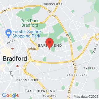 Combat Archery Bradford, West Yorkshire Location Map