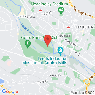 Combat Archery Leeds, West Yorkshire Location Map
