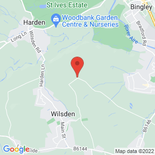Axe Throwing Wilsden, Bradford Location Map