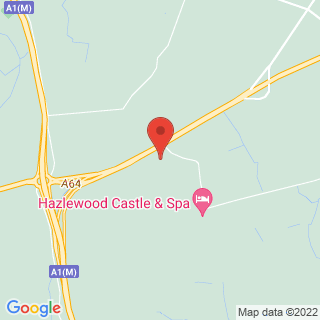 Archery Tadcaster, North Yorkshire Location Map