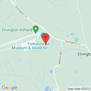 Driving Experiences Elvington, York Location Map