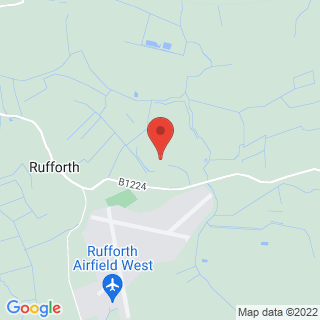 Clay Pigeon Shooting Rufforth, Nr York Location Map